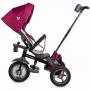 Tricicleta 4 in 1 multifunctionala Velo Air Coccolle, cu sezut reversibil, Violet
