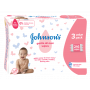 Servetele umede Johnson's Baby Gentle All Over, 3 pachete, 216 buc