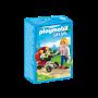 Carucior cu gemeni, Playmobil, 4 ani+