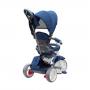 Tricicleta Evo Coccolle, cu sezut reversibil, Albastru