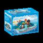 Familie cu hidrobicicleta, Playmobil, 4 ani+