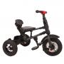 Tricicleta pliabila Rito AIR Qplay, cu roti gonflabile de cauciuc, Rosu