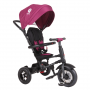 Tricicleta pliabila Rito AIR Qplay, cu roti gonflabile de cauciuc, Violet