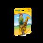 Ingrijitor zoo cu girafa 1.2.3 Playmobil, 18 luni+