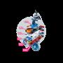 Frosty si lansator de discuri, Playmobil, 5 ani+