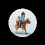 Marla cu cal, Playmobil, 4 ani+