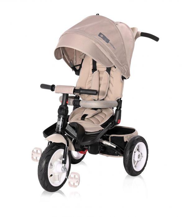Tricicleta Jaguar Air Wheels Lorelli Ivory 2, 12 luni+, Bej