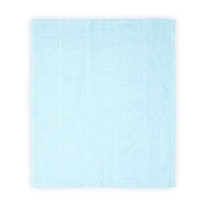 Paturica bumbac Lorelli, 75x100 cm, Bleu