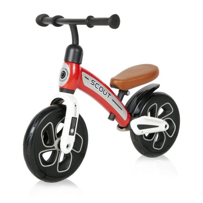 Bicicleta fara pedale Scout Lorelli Red, 24 luni+, Rosu
