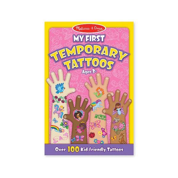 Set tatuaje temporare Fetite Melissa & Doug, 3 ani+