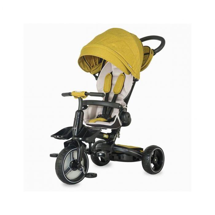 Tricicleta multifunctionala Alto Coccolle, mustar