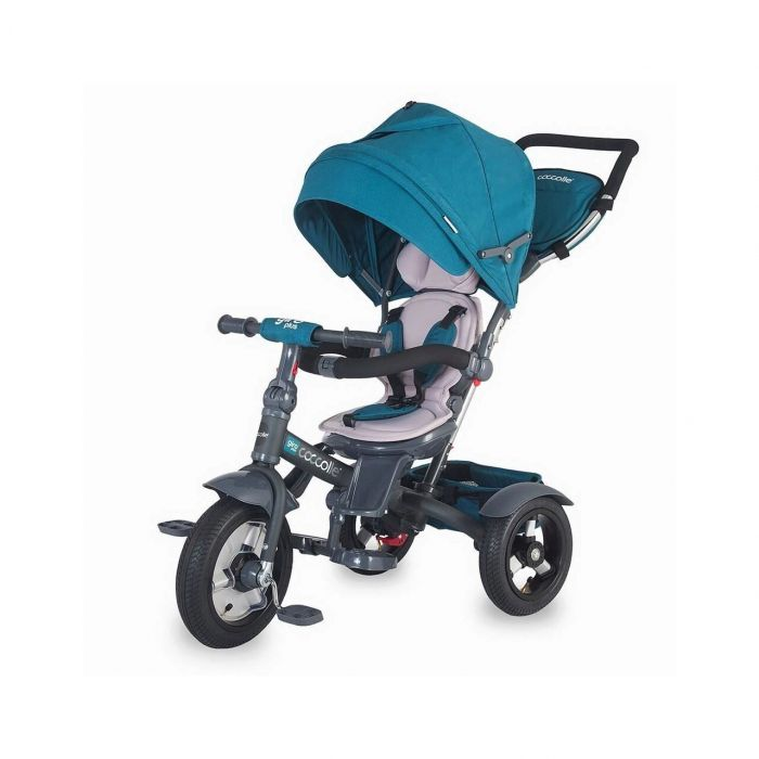 Tricicleta multifunctionala Giro Plus Coccolle, Albastru