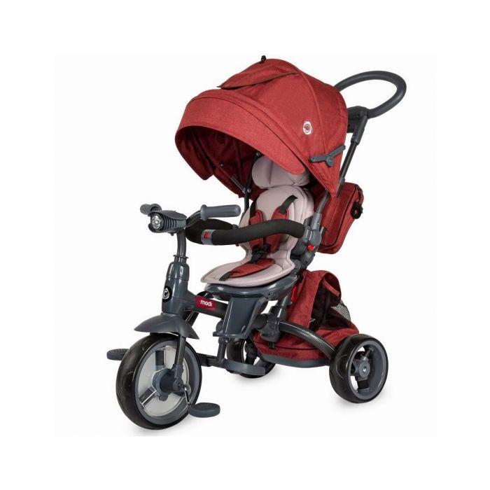 Tricicleta multifunctionala Modi Coccolle, Rosu