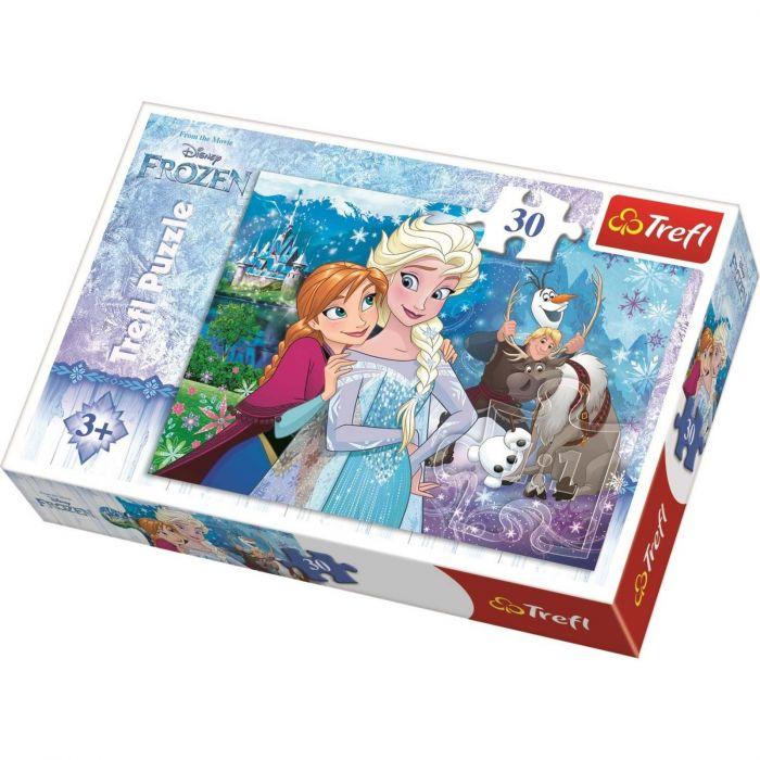 Puzzle Magia Frozen 30 piese Trefl