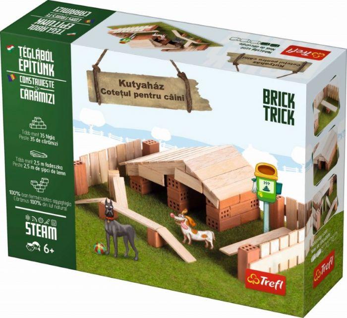 Cotetul pentru Caini Brick Trick Trefl, din caramidute ceramice, 6 ani+