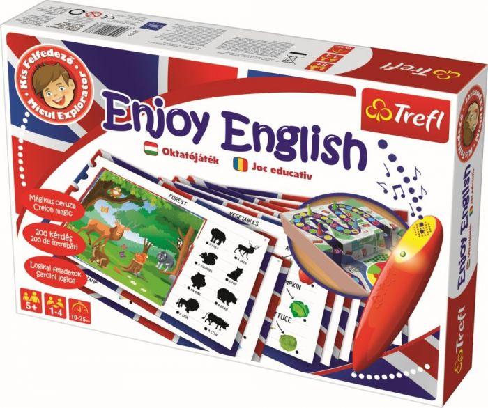 Joc cu Stilou Electronic Invata Engleza Trefl, 5 ani+