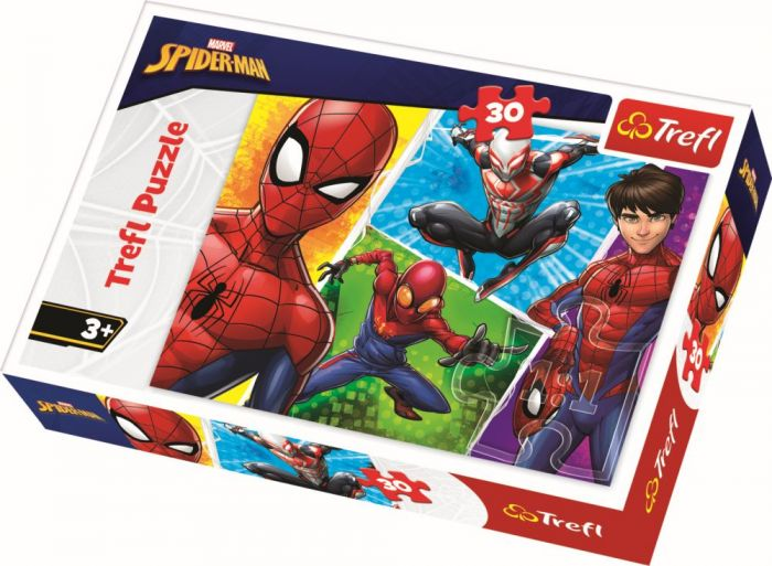 Puzzle Trefl 30 Spiderman si Miguel, 3 ani+