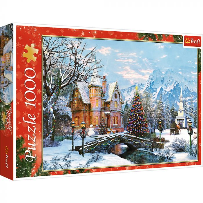 Puzzle Trefl 1000 Peisaj de Iarna, 12 ani+
