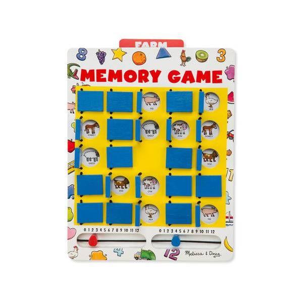 Joc memorie Intoarce si Castiga Melissa & Doug, 5 ani+