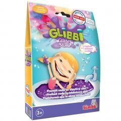 Slime Glibbi Unicorn cu sclipici Simba, 3 ani+