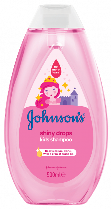 Sampon Johnson's Baby, pentru par stralucitor, 500 ml
