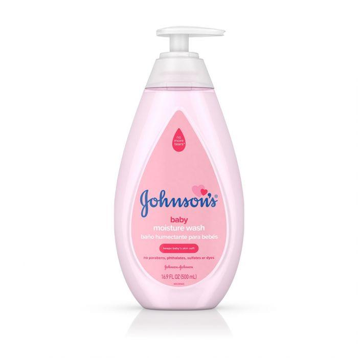 Lotiune de spalare Johnson's Baby Soft, 500 ml