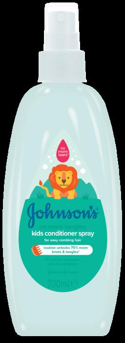 Balsam spray Johnson's Baby, pentru descurcarea parului, 200 ml