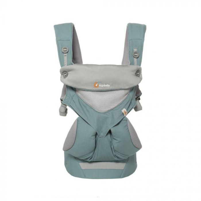 Marsupiu 360 Cool Air Mesh Ergobaby, 5.5-20 kg, Icy Mint