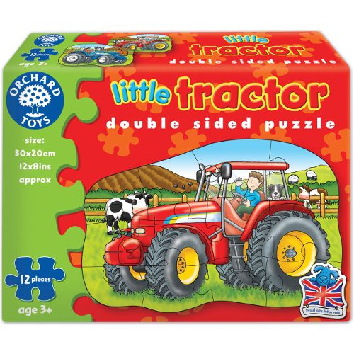 Puzzle fata verso Tractor Orchards, 12 piese, 36 luni+