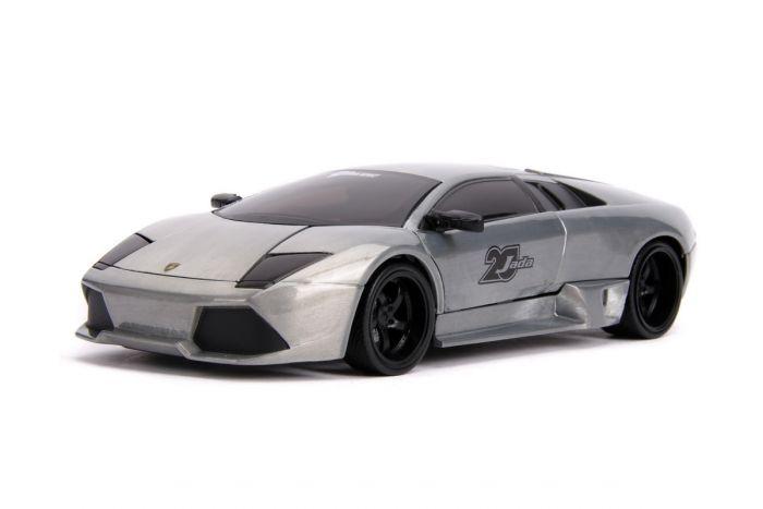 Macheta Lamborghini Murcielago Jada Toys, metalica, 1:24, 8 ani+