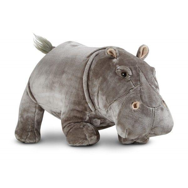 Hipopotam Gigant plus Melissa & Doug, 74 cm, 3 ani+