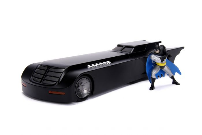 Figurina Seria Animata cu Batmobilul Jada Toys, 8 ani+