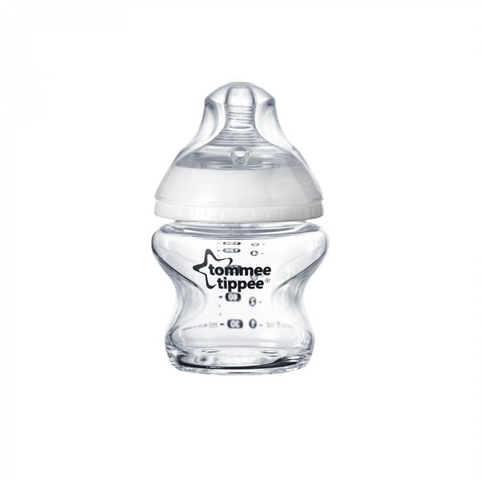 Biberon Closer to Nature Tommee Tippee, sticla, 150 ml