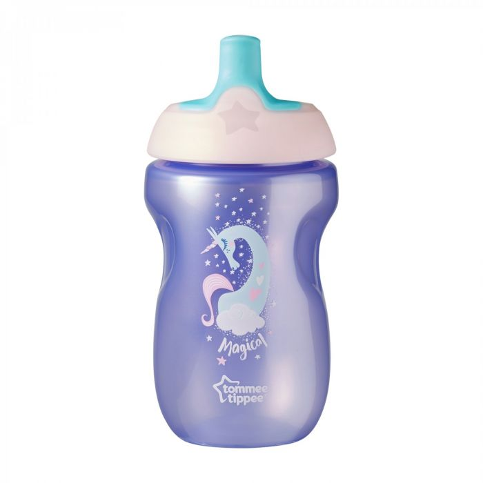Cana Sports Explora Unicorn Tommee Tippee, mov, 300 ml, 12 luni+