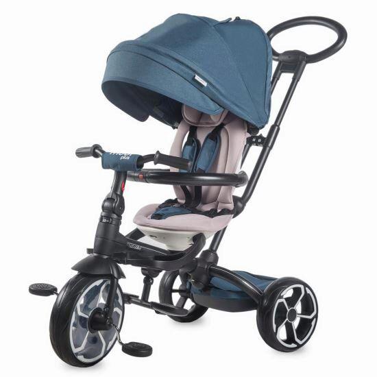 Tricicleta multifunctionala Modi+ Coccolle, Albastru