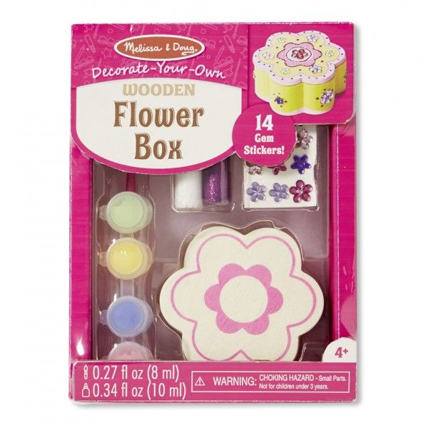 Set creatie Cutiuta floare Melissa & Doug, 3 ani+