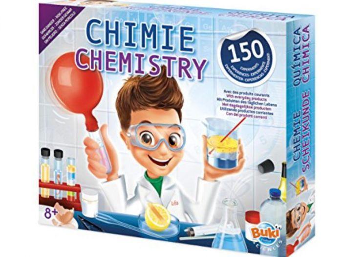 Laboratorul de chimie Buki, 150 de experimente, 8 ani+