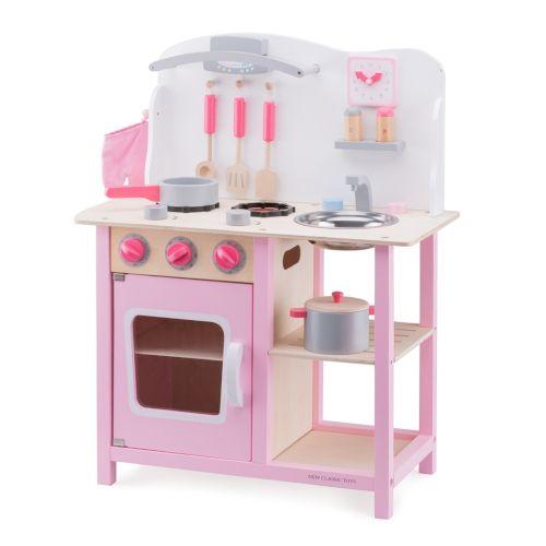 Bucatarie Bon appetit New Classic Toys, 36 luni+, RozBucatarie Bon appetit New Classic Toys, 36 luni+, Roz