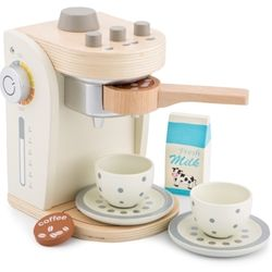 Cafetiera New Classic Toys, 36 luni+, Alb