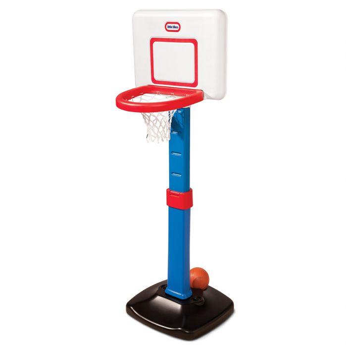 cos basket albastru jucarie