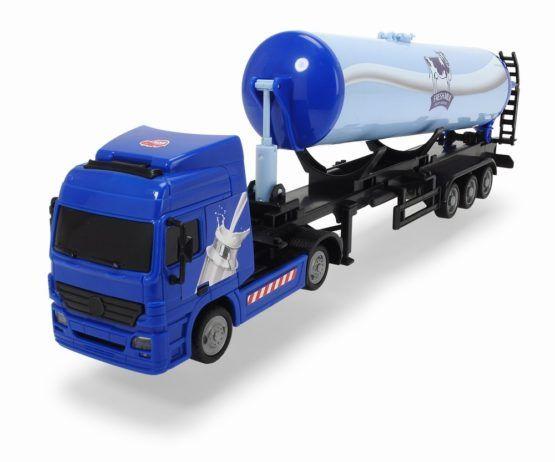 Camion cisterna cu remorca Dickie Toys, 42 cm, 3 ani+