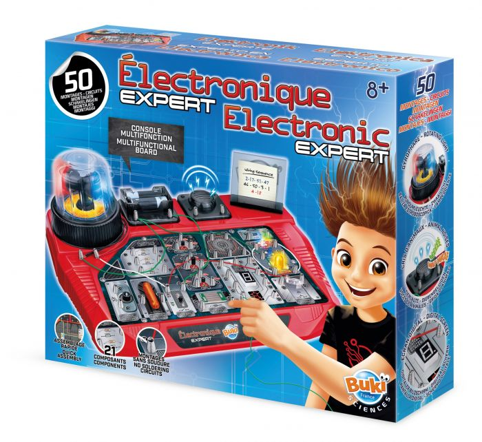 Expert in electronica Buki, 8 ani+