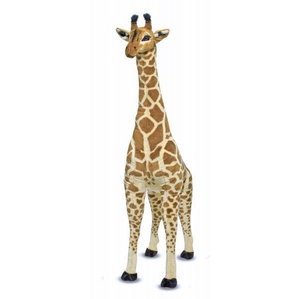 Girafa Gigant plus Melissa & Doug, 135 cm, 3 ani+