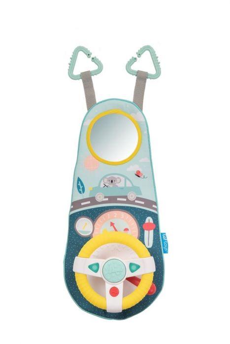 Jucarie auto Volanul muzical Koala Taf Toys, 12 luni+