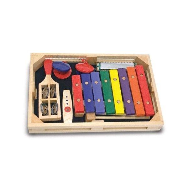 Set instrumente muzicale Melissa & Doug, pentru incepatori, 3 ani+