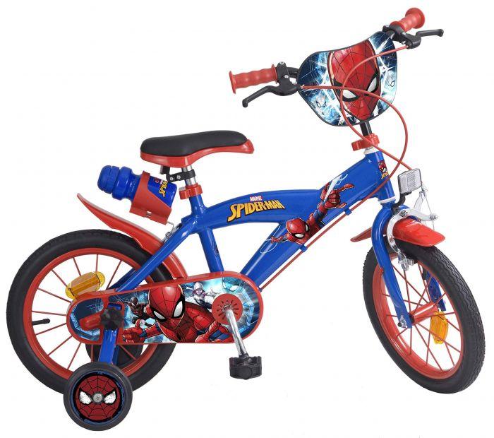 Bicicleta copii 14'' Spiderman Toimsa, 4 ani+
