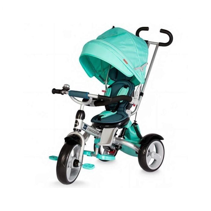 Tricicleta Giro Coccolle, Verde