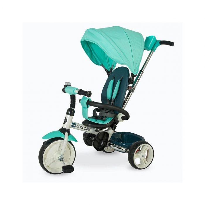 Tricicleta pliabila Urbio Coccolle, verde