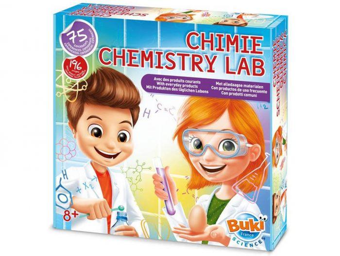 Laboratorul de chimie Buki, 75 de experimente, 8 ani+