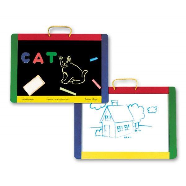 Tabla de scris magnetica Melissa & Doug, cu litere, 3 ani+